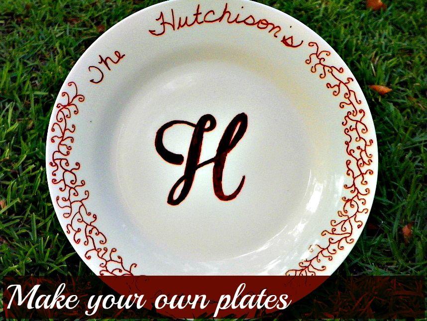 diy make your own plates another dollar store craft diy diy diy