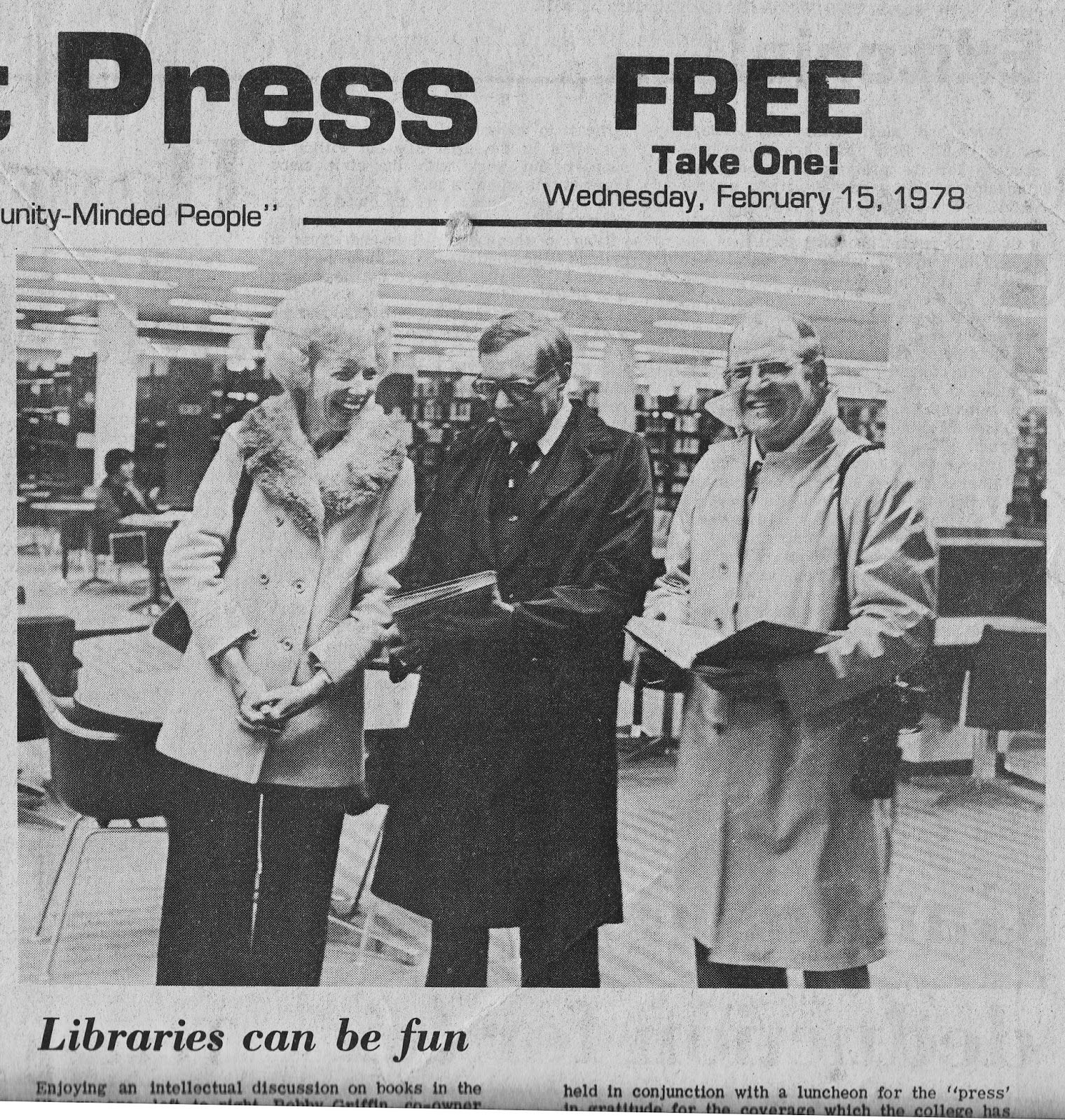 South Belt Houston Digital History Archive: 1978 Libraries Can Be Fun