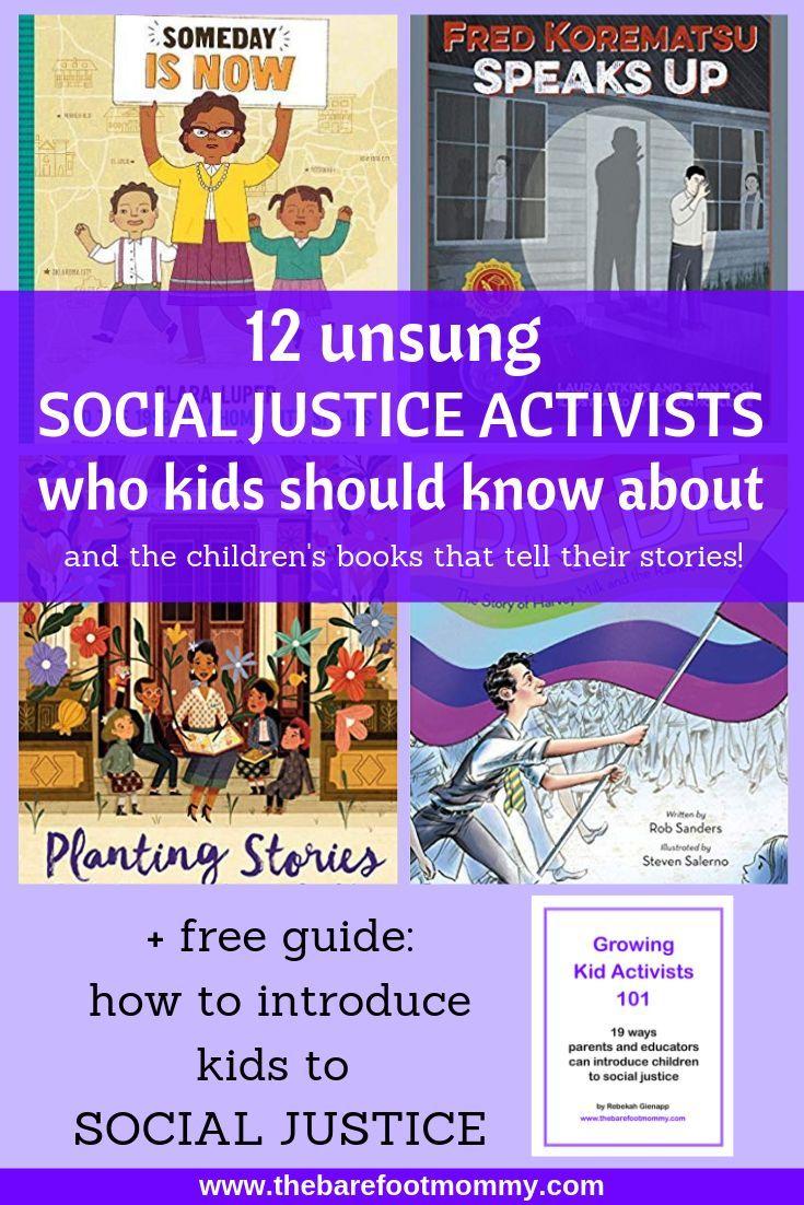 12 unsung social justice activists who kids should know