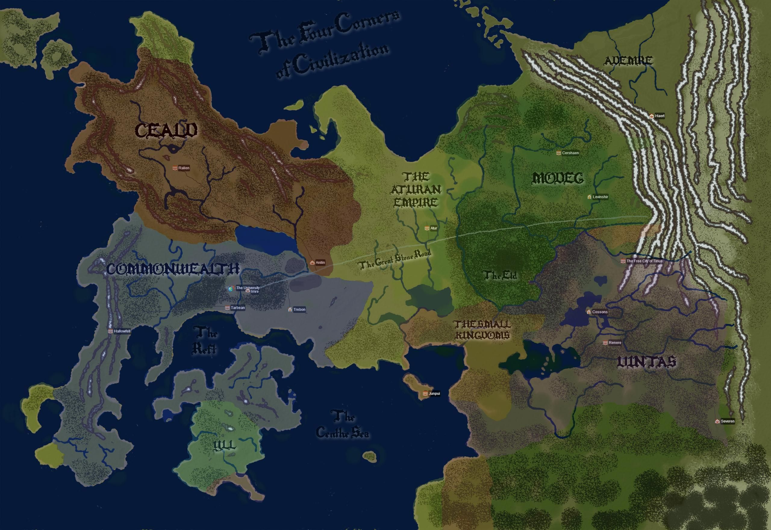 World of the Kingkiller Chronicles | Fantasy World Maps | Wind map on the riyria chronicles map, unicorn chronicles luster of a map, powder mage trilogy map, terry pratchett discworld map, jim butcher codex alera map,