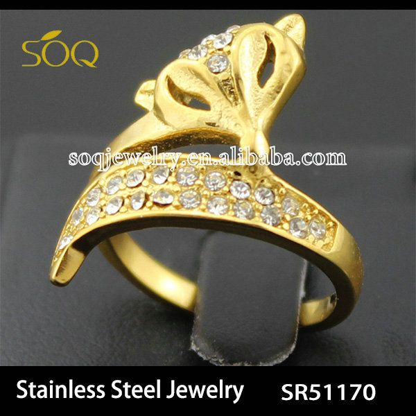 Find More Rings Information about SOQstainless steel luxury jewelry anel ring 18k gold plated crystal bling korean fox curved round wedding finger rings for women,High Quality jewelry rings fashion,China jewelry gold ring Suppliers, Cheap ring grain from SOQ Stainless Steel Jewelry on Aliexpress.com