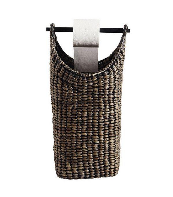 22 id es de rangement pour votre papier toilette diy astuces d co rangement papier. Black Bedroom Furniture Sets. Home Design Ideas