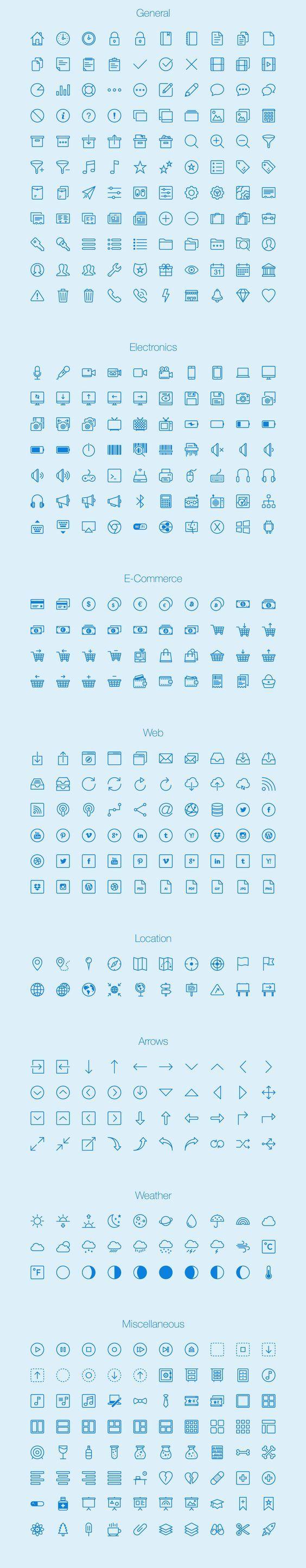 20 Packs D Icones Specialises Gratuits Pour Vos Projets De E Commerce Blog Du Webdesign Facilitation Graphique Picto Icone Gratuit