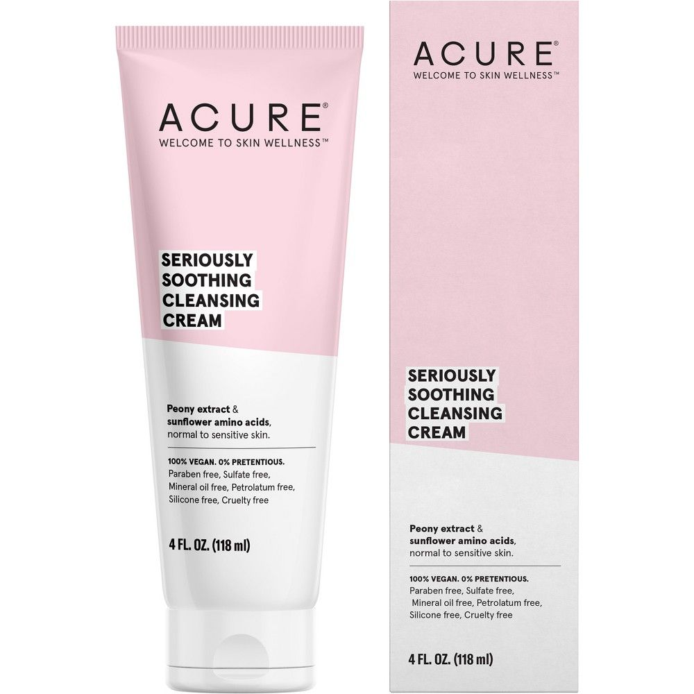 Unscented Acure Seriously Soothing Cleansing Cream