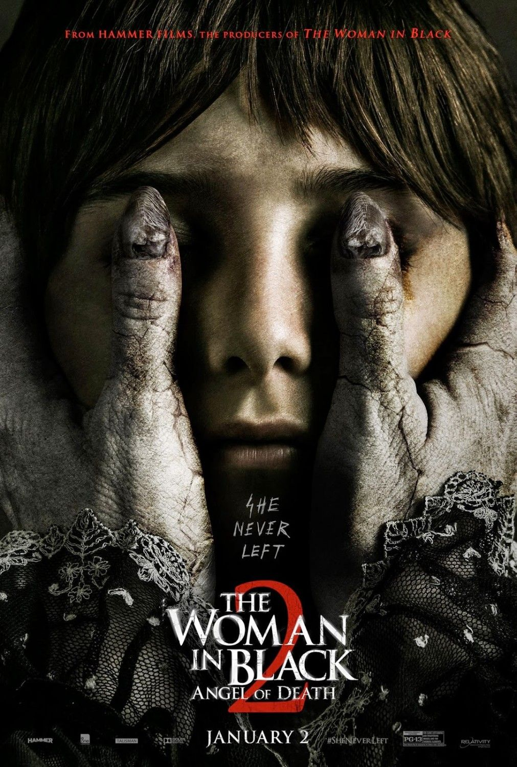 the woman in black 2: angel of death - movie posters | horror-today