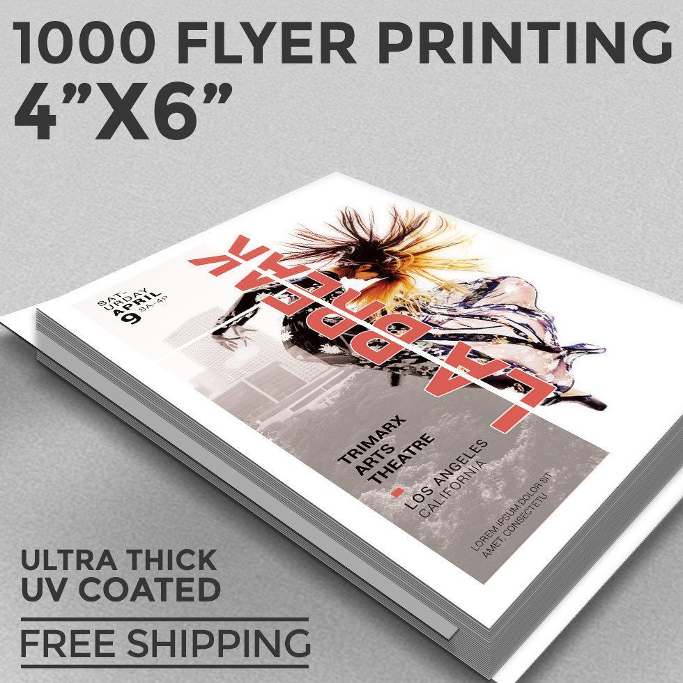 Our Flyers Are Printed In Full Color On 16pt C2S Paper GLOSS UV COATED