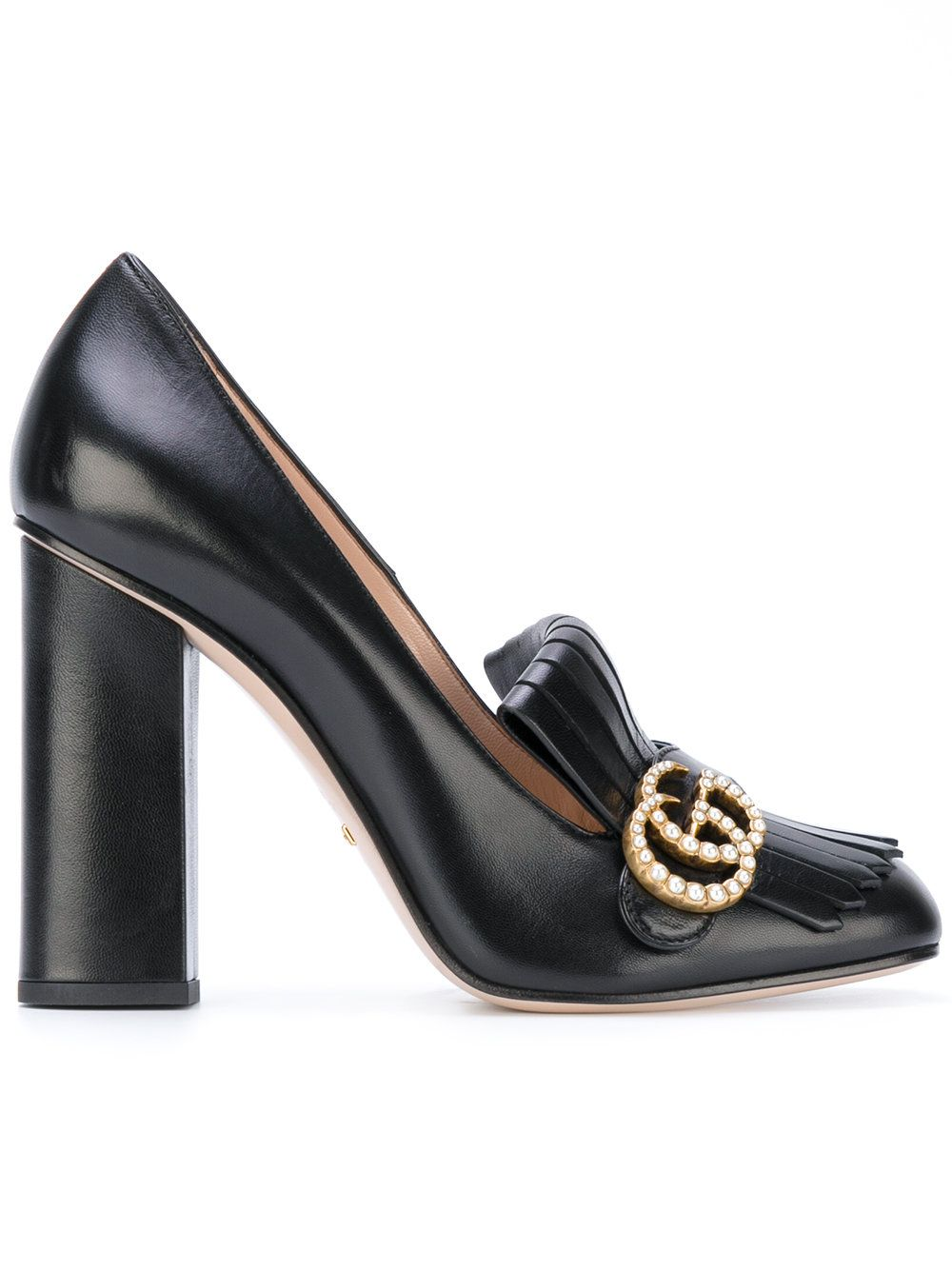 3c03148abcc Women s Metallic Marmont Fringed Loafer Heel