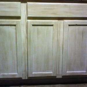 Pictures Of Faux Finish Kitchen Cabinets