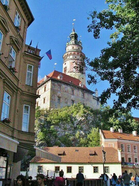Republica Checa. Castillo de Cesky Krumlov