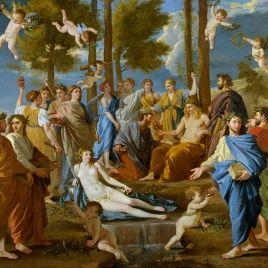 El Parnaso- Nicolás Paussin- 1630- 1631 - Museo Nacional del Prado