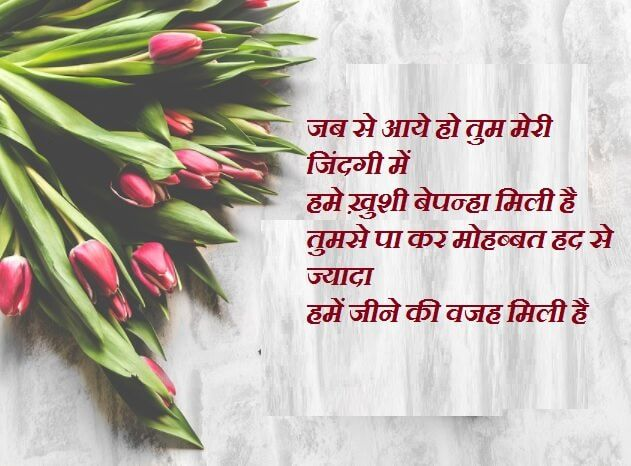 Happy Birthday Hindi Shayari Wishes For Love With Images Wife