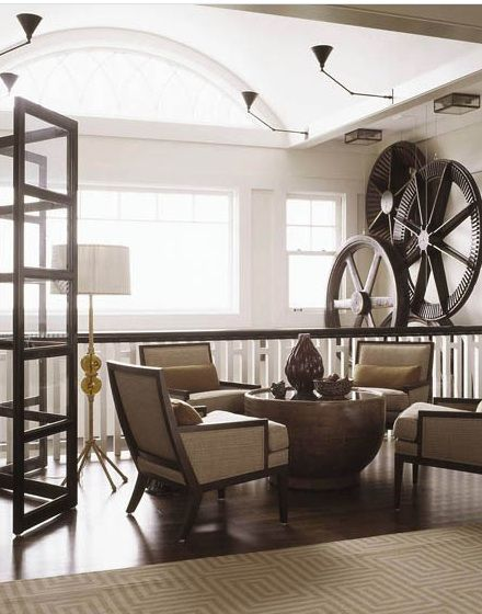 French Industrial Decor
