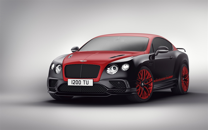 Lataa kuva Bentley Continental 24, 2017 autot, superautot, tuning, Bentley