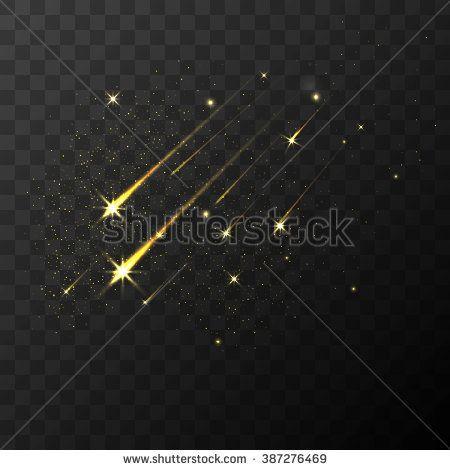 Image Result For Gold Glitter Shooting Star Overlay Star Overlays Shooting Stars Gold Glitter