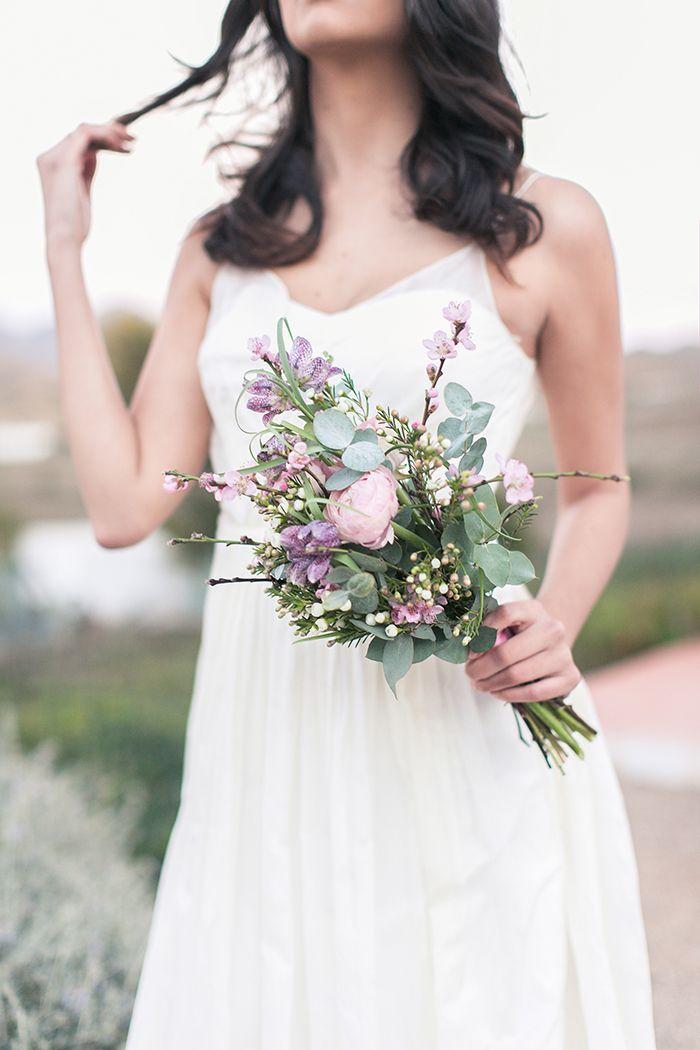 Hochzeitsworkshop, Hochzeit, Spanien, Braut, Brautstrauß, offene ...