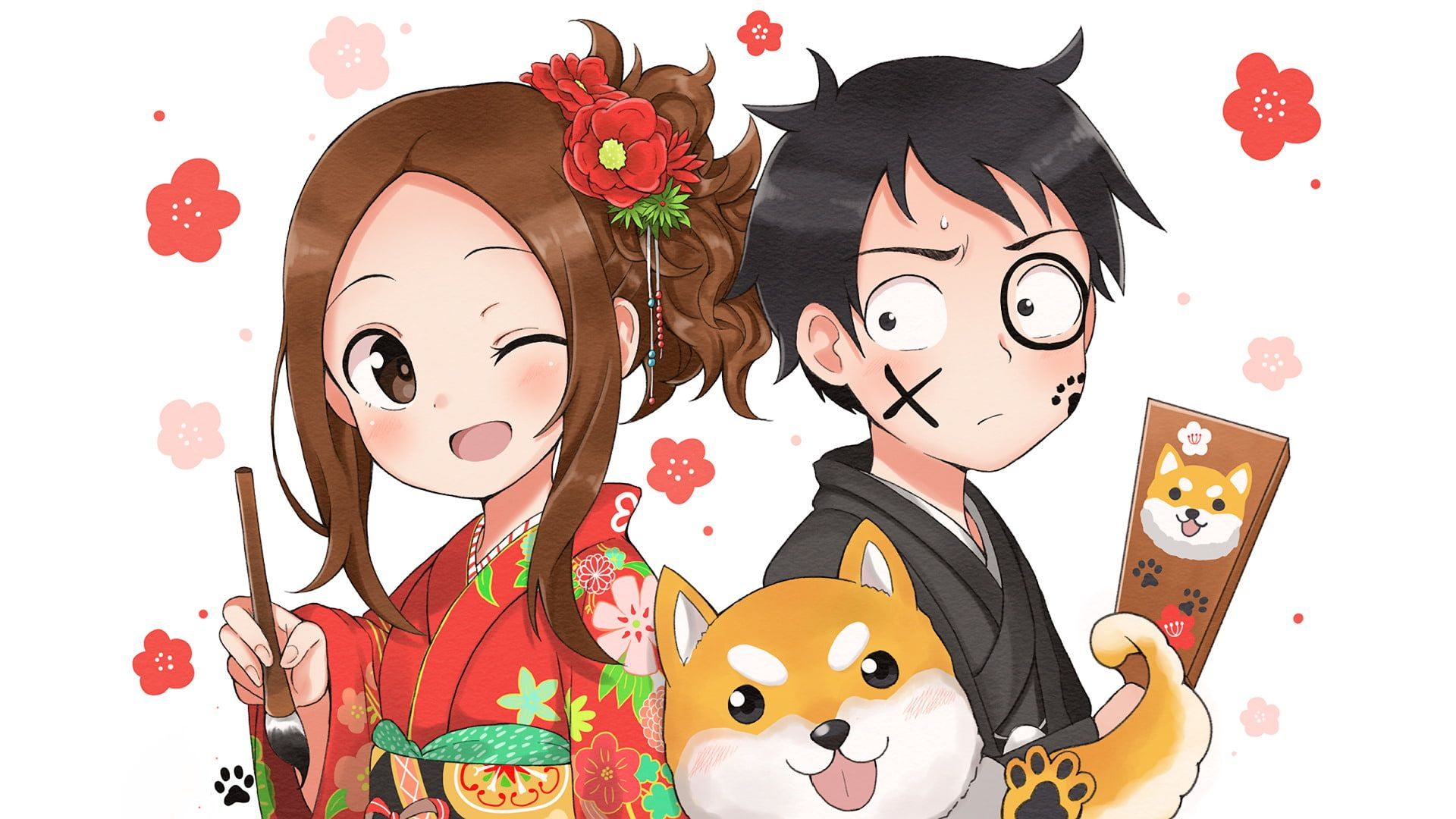 Anime Karakai Jouzu No Takagi San Nishikata Karakai Jouzu No Takagi San Takagi Karakai Jouzu No Takagi San 1080p Wallpaper Hdw Anime Takagi Anime Chibi