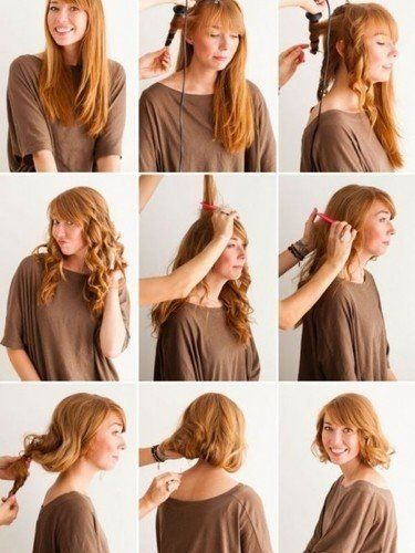 Flapper Hairstyles hairstyles of the roaring 20s 1920s vintage hair retro hair flapper halloween Flapper Hairstyles For Long Hair Tutorial 2015 2016
