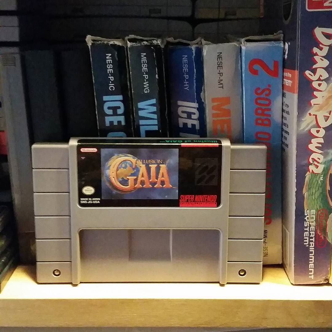 On instagram by roforstobbe #retrogaming #microhobbit (o) http://ift.tt/1TKc4U2 nytt spel i samlingen #supernintendo