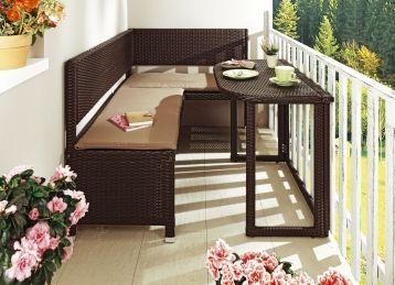 Balkonmöbel-Serie verschiedene Ausführungen | Kleines