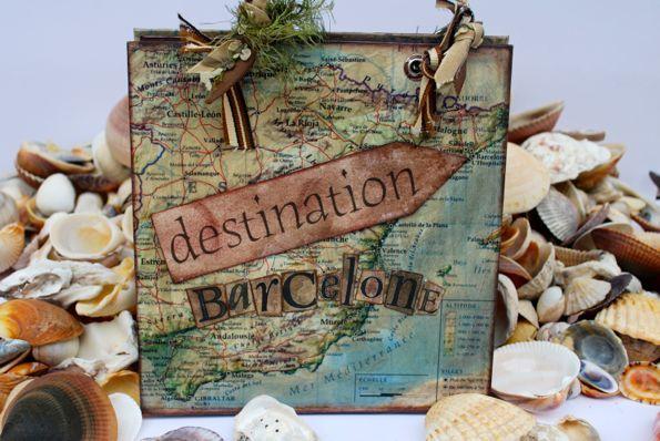 carnet de voyage scrap et papier abracadacraft des id es pour carnets de voyage d. Black Bedroom Furniture Sets. Home Design Ideas