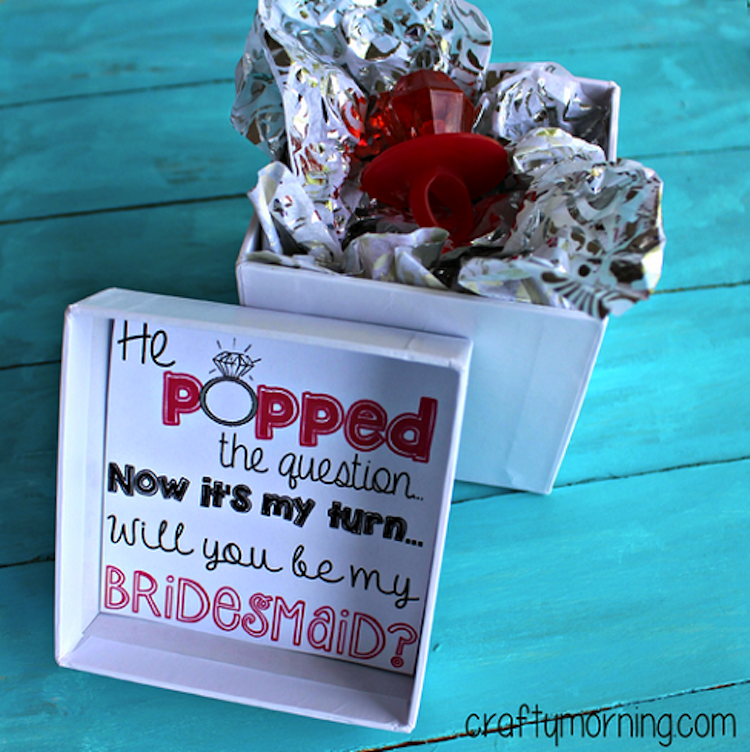 Ask Your Bridesmaid With A Ring Pop This Is Cute Way Of