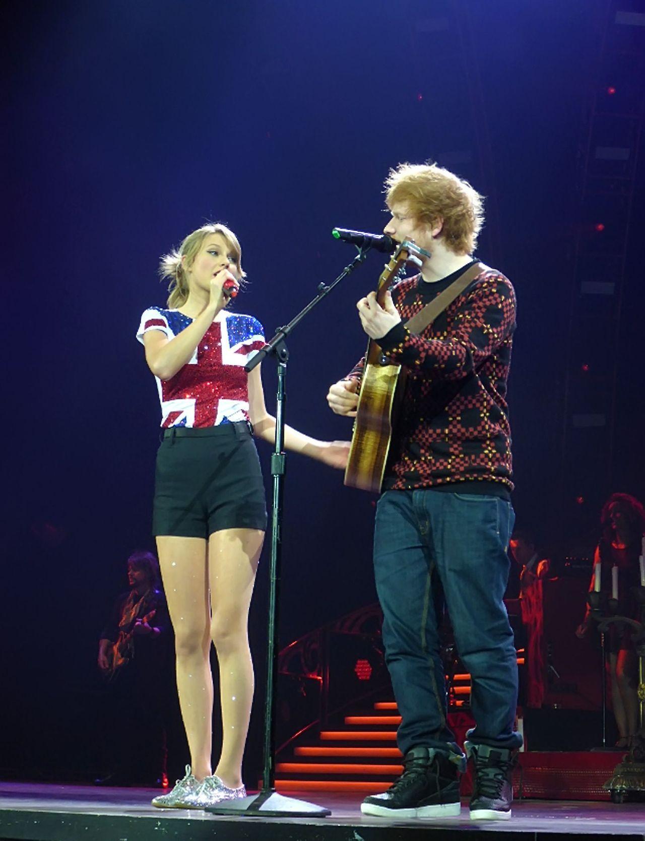 Lego House W Ed Sheeran Red Tour London 2 1 14 Taylor Swift