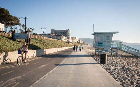 Beach Boardwalk Biking Pier Redondo La