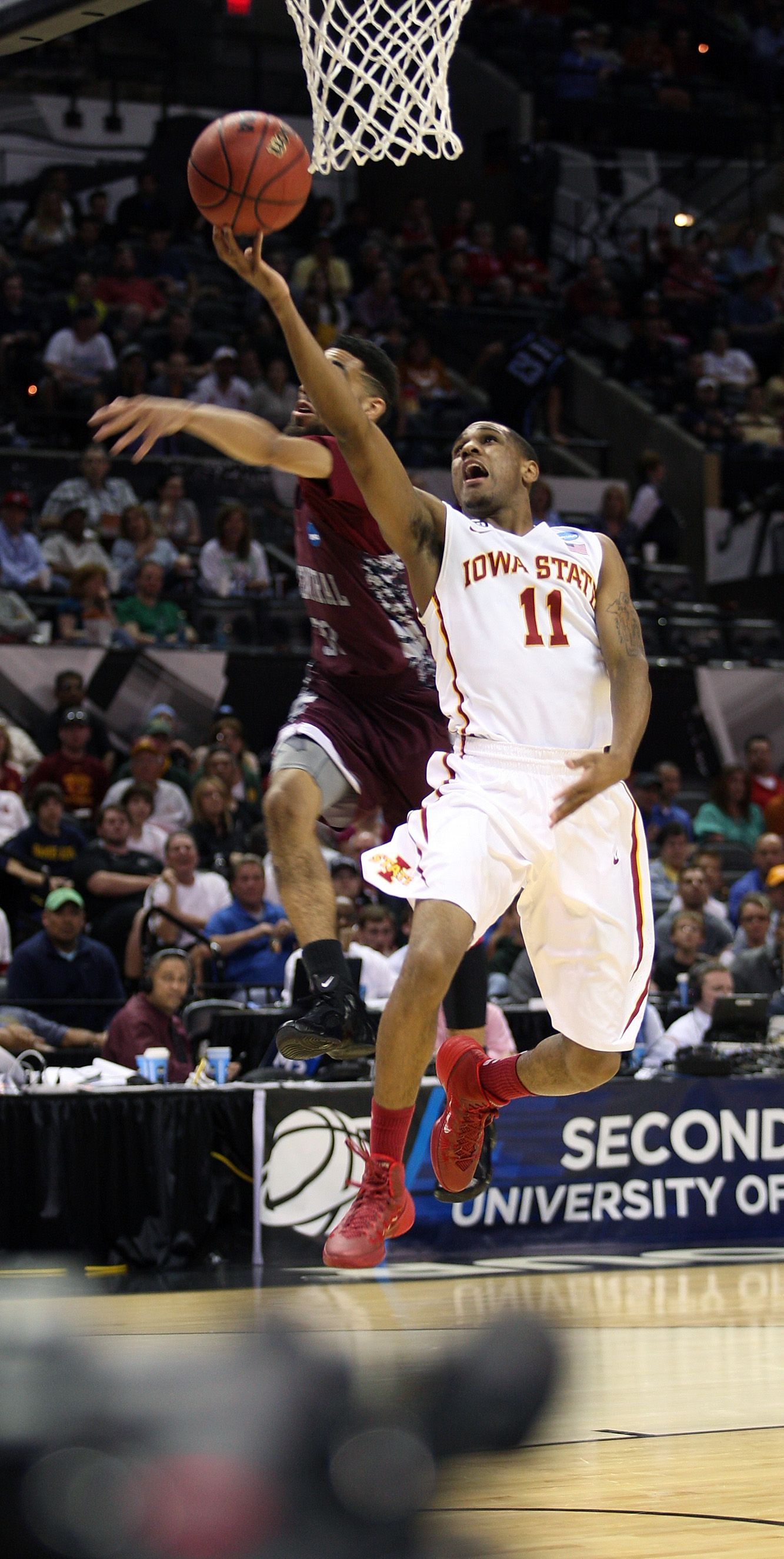 Five Iowa State Players Scored In Double Figures Including Monte