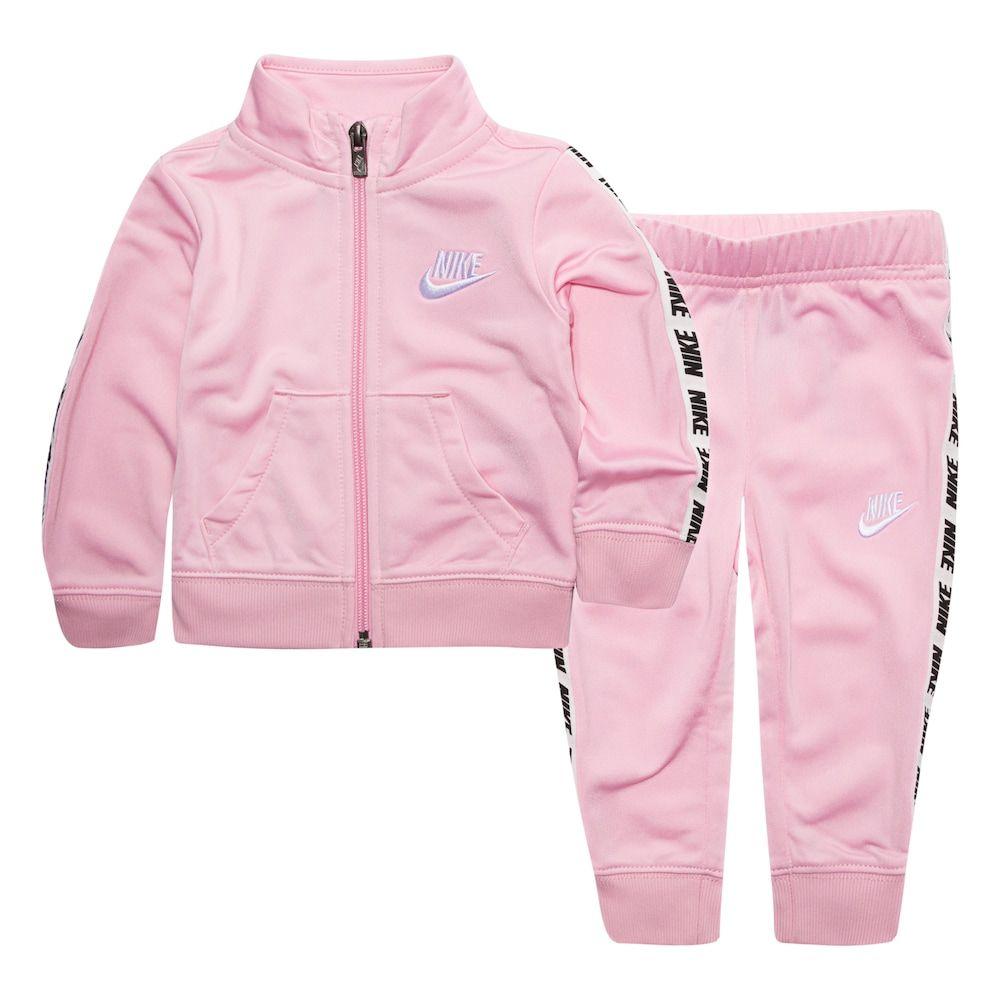 Baby Girl Nike Track Jacket \u0026 Pants Set