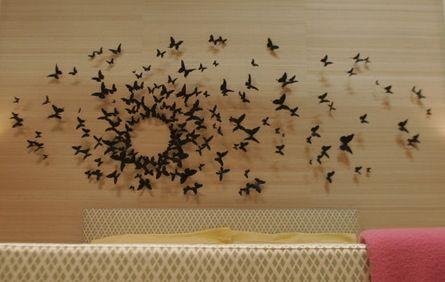Exceptionnel Paul Villinski Installation    Wall Decor In Serenau0027s Bedroom... I Love The