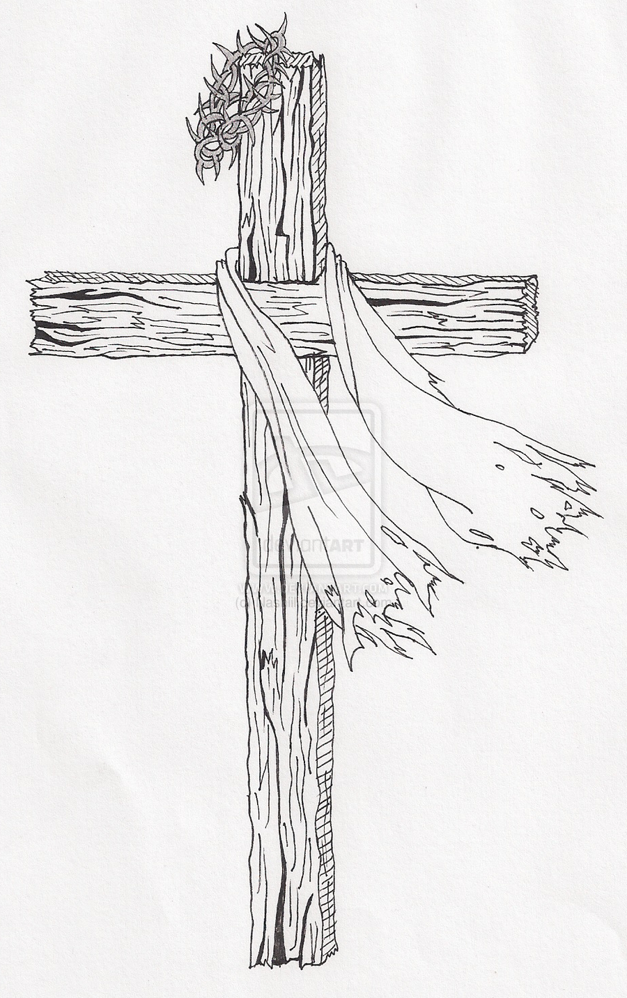 Wooden cross drawing google search