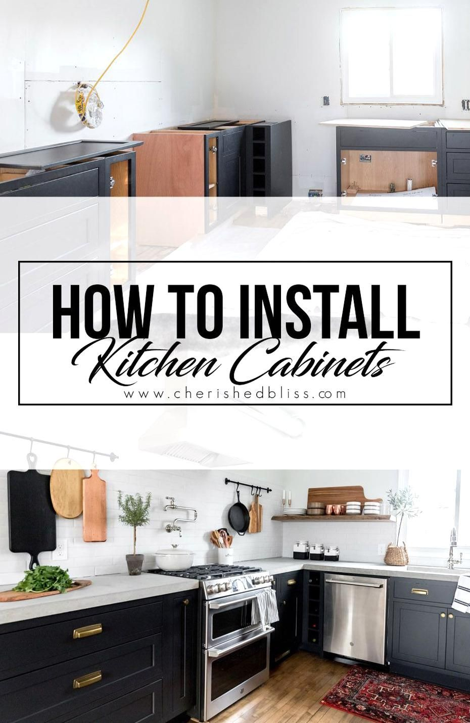 Learning How To Install Kitchen Cabs Yourself Can Save You Tons On A Kitchen Renovatio In 2020 Installing Kitchen Cabinets Kitchen Cabinet Plans Diy Kitchen Renovation