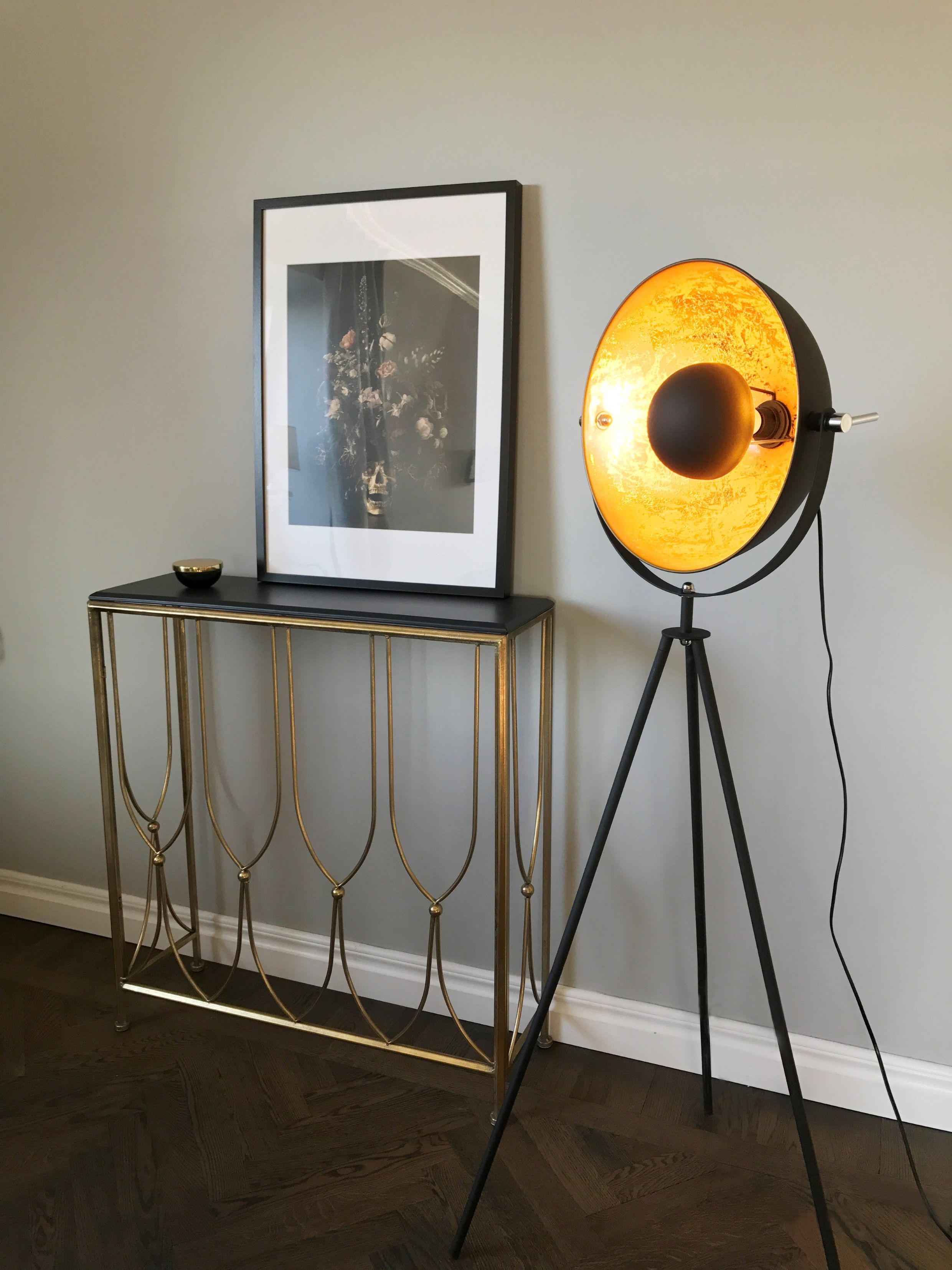 Captain Is A Unique And Eye Catching Mini Floor Lamp For Modern