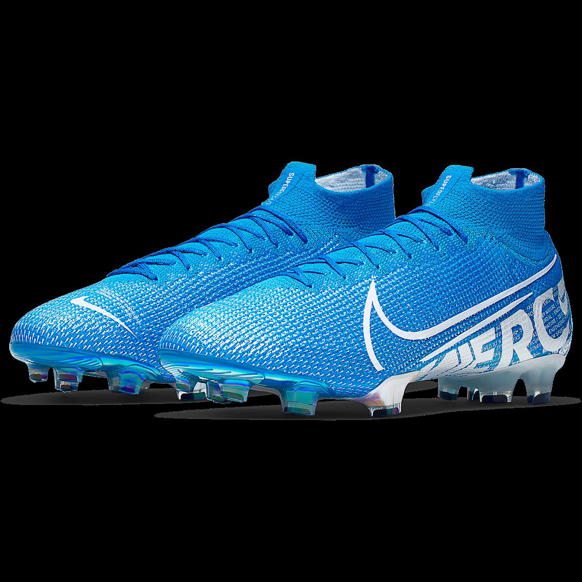 Nike Mercurial Superfly 7 Elite FG Soccer Cleat BlueWhite