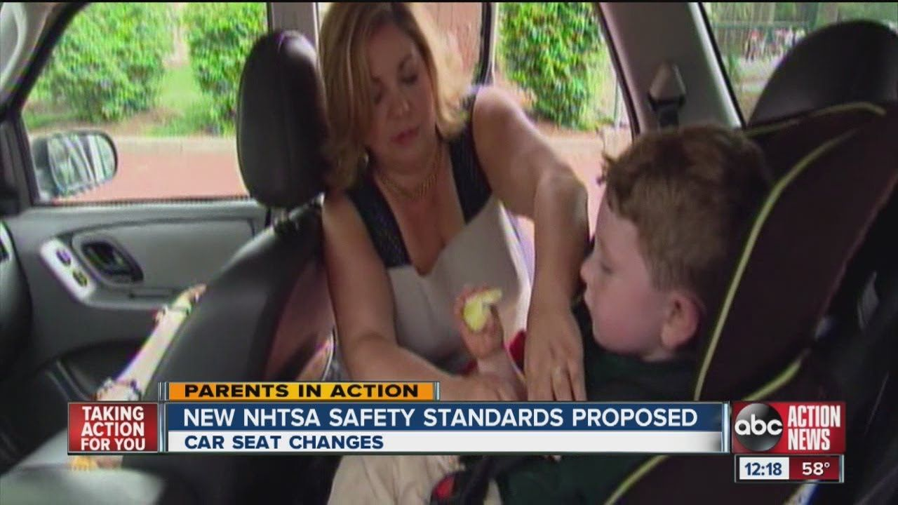 Parents in Action Car seat changes with Angela Ardolino