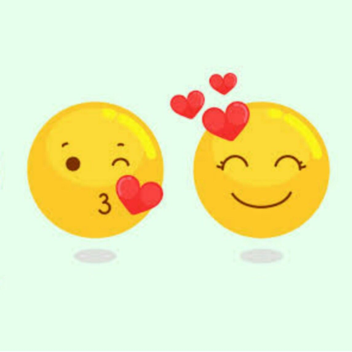 Schöne Emojis