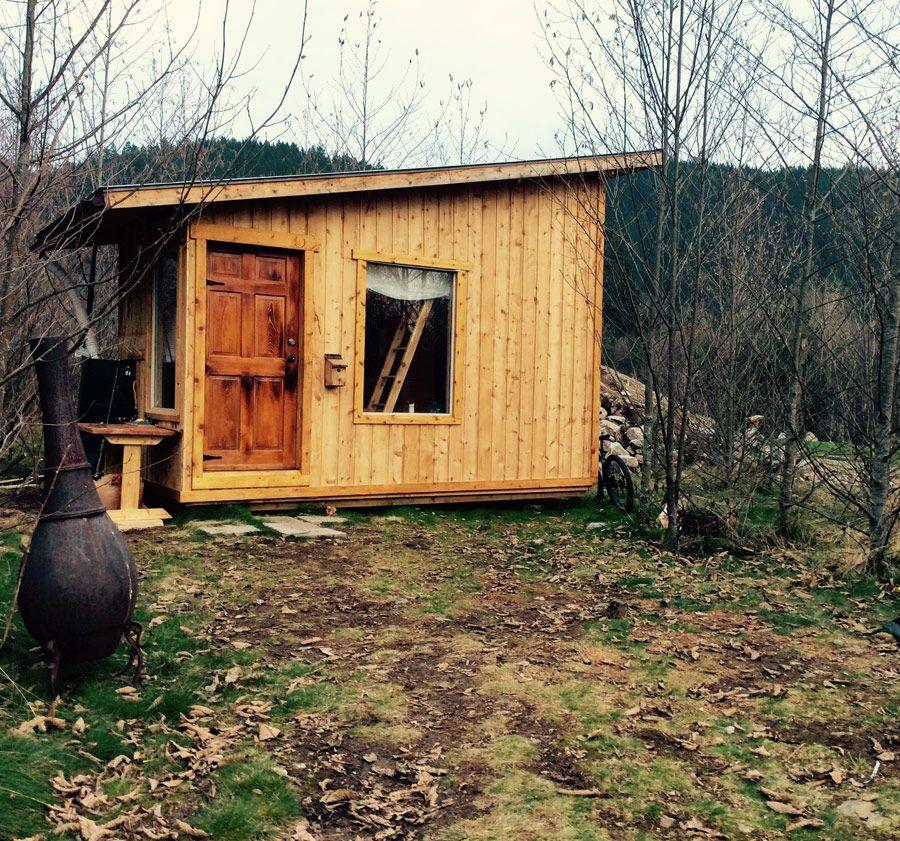 Image1-A Small, Amish-built Cabin In Morgan, West Virginia