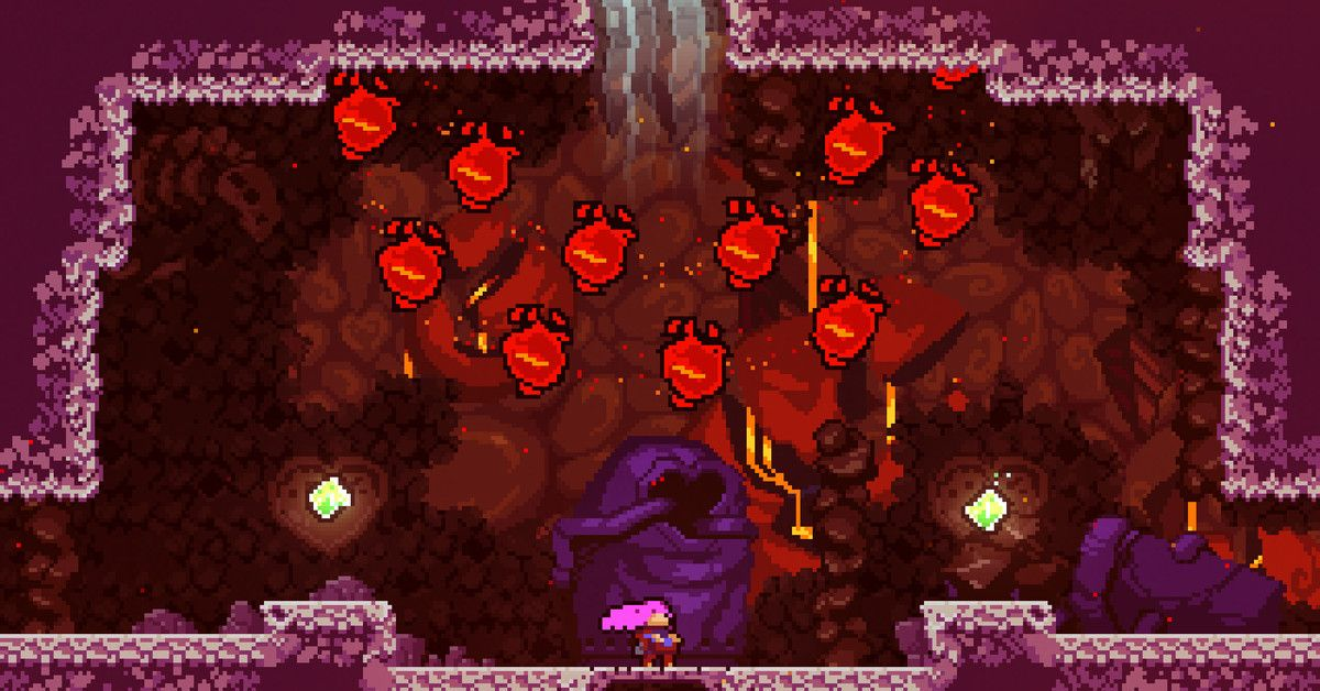 Celeste is getting a great collector's edition Pixel art