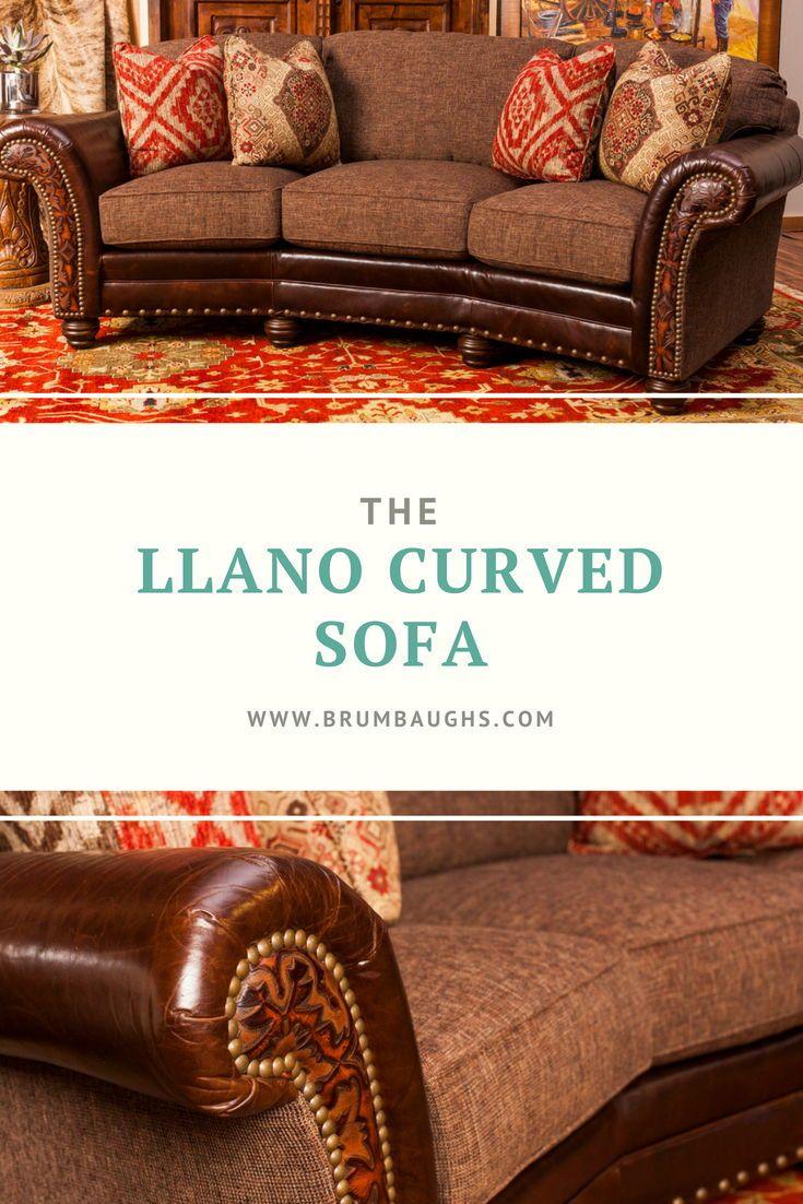 Llano Curved Sofa Curved Sofa Sofa Cloth Printed Sofa