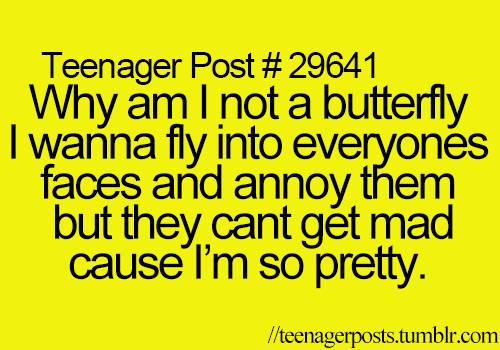~Teenager Posts~