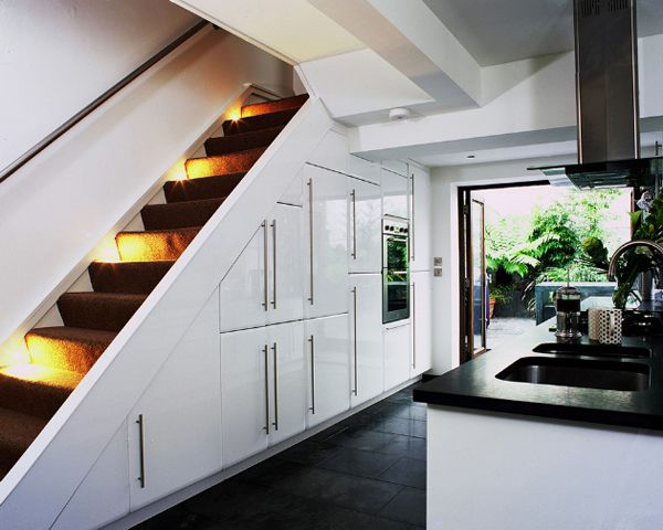 55 amazing space saving kitchens under the stairs kitchen under stairs kitchen cabinets under on kitchen under stairs id=89673