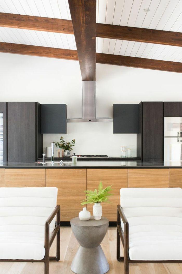 moderne küche wohnung mit offenem wohnplan Küche Möbel - Küchen - moderne kuche