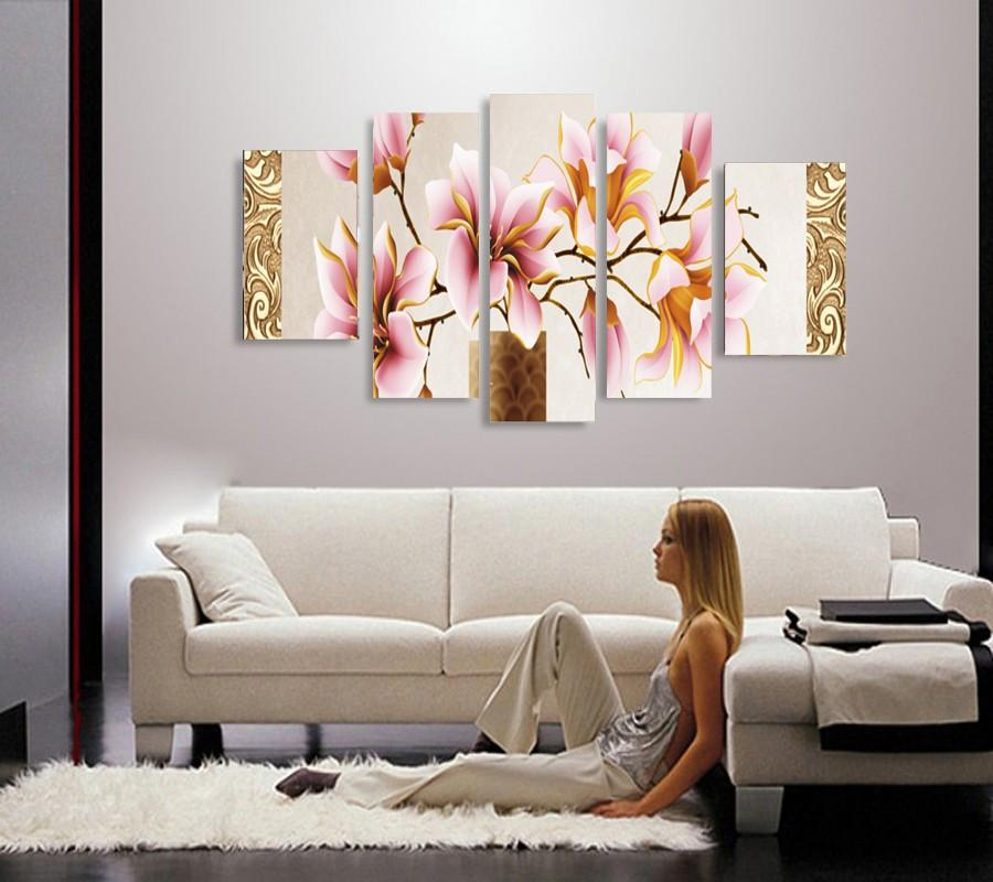 Beautiful Vivid 3 Piece Floral Flower Multiple Floral And Size Choices Noframe Ash Wall Decor Wall Art Canvas Panel Wall Decor Decor Cheap Canvas Prints