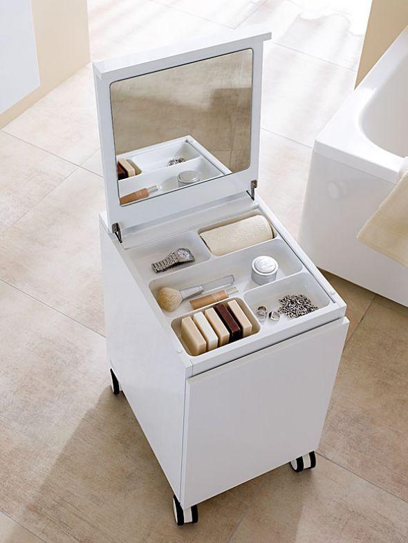 mehr stauraum im bad einrichten badezimmer pinterest badezimmer einrichtung und bad. Black Bedroom Furniture Sets. Home Design Ideas