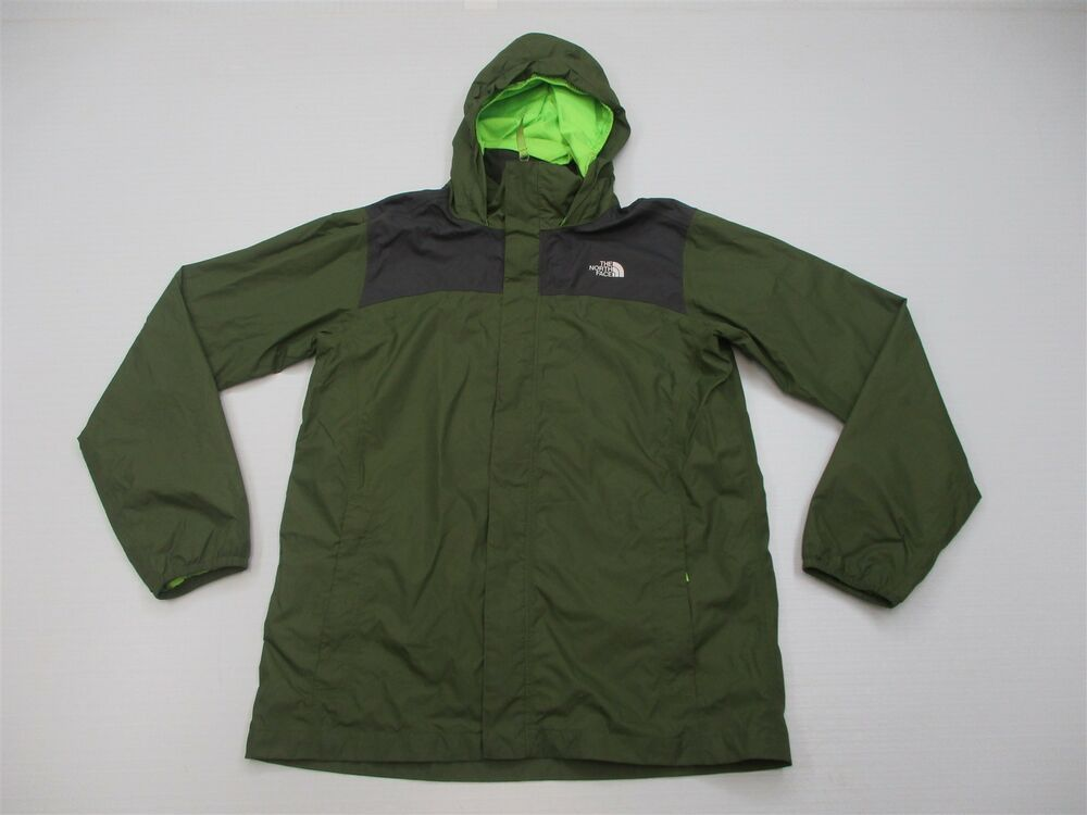 The North Face Jacket Youth Boy S Size Xl Dry Vent Green Lightweight Rain K6418 Fashion Clothing Shoes Cheap Kids Clothes Online North Face Jacket Jackets