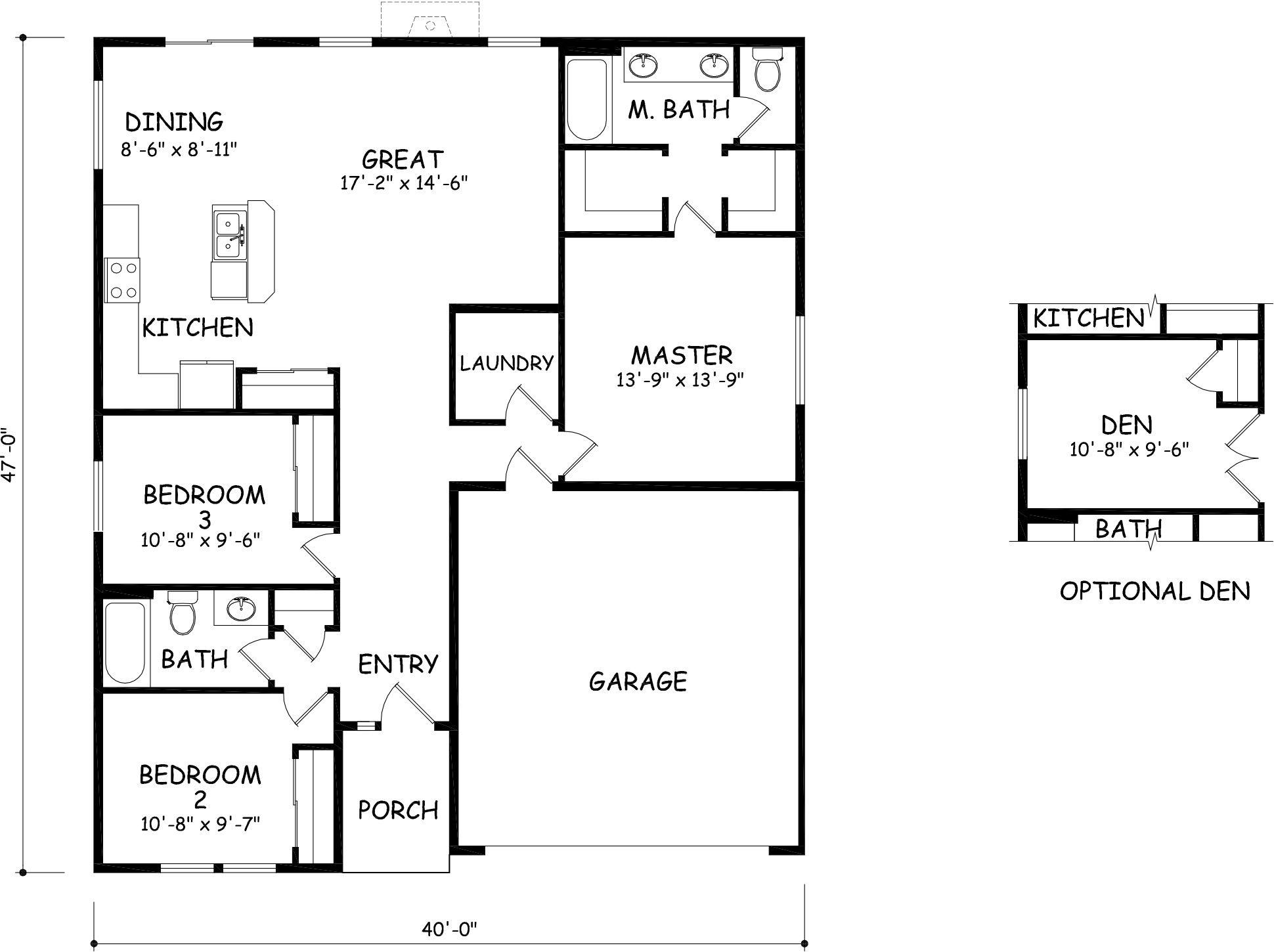 the edgewood by hayden homes floor plan the 1408 square foot the edgewood by hayden homes floor plan the 1408 square foot edgewood is a