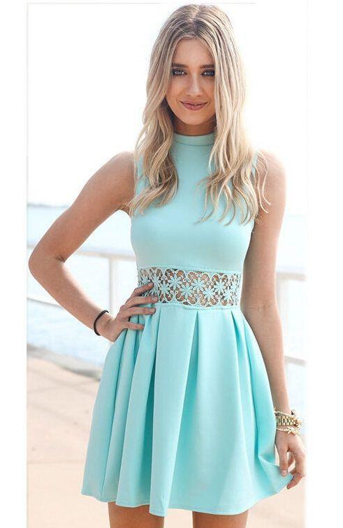 Resultado de imagen para vestidos juveniles cortos   mi ropa   Pinterest