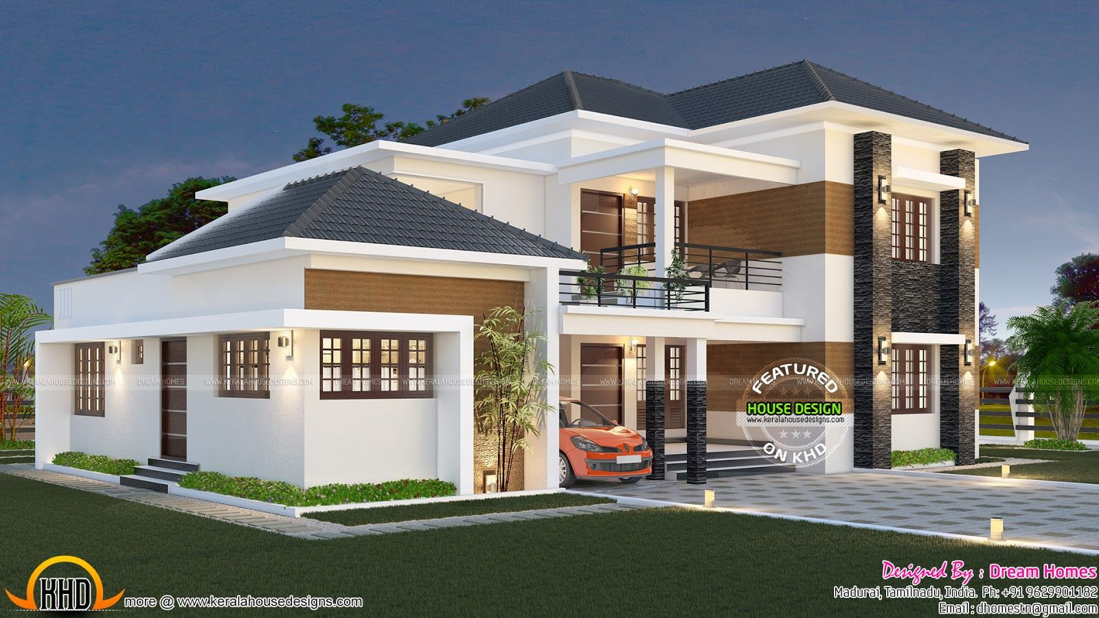 Beau Elegant South Indian Home