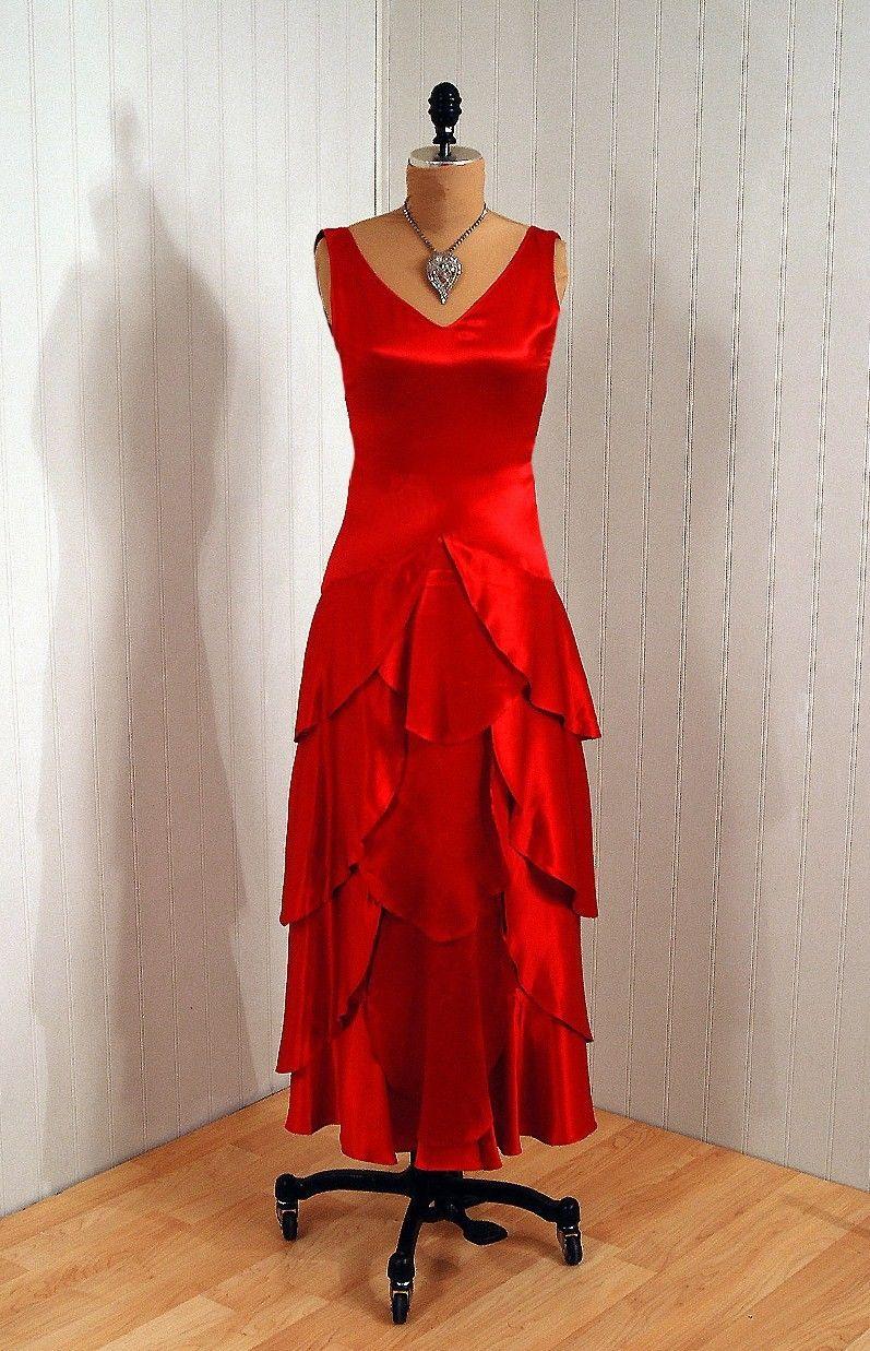 1920 S Dress Front View Red Dresses 2dayslook Reddresses Susan257892 Watsonlucy723 Www