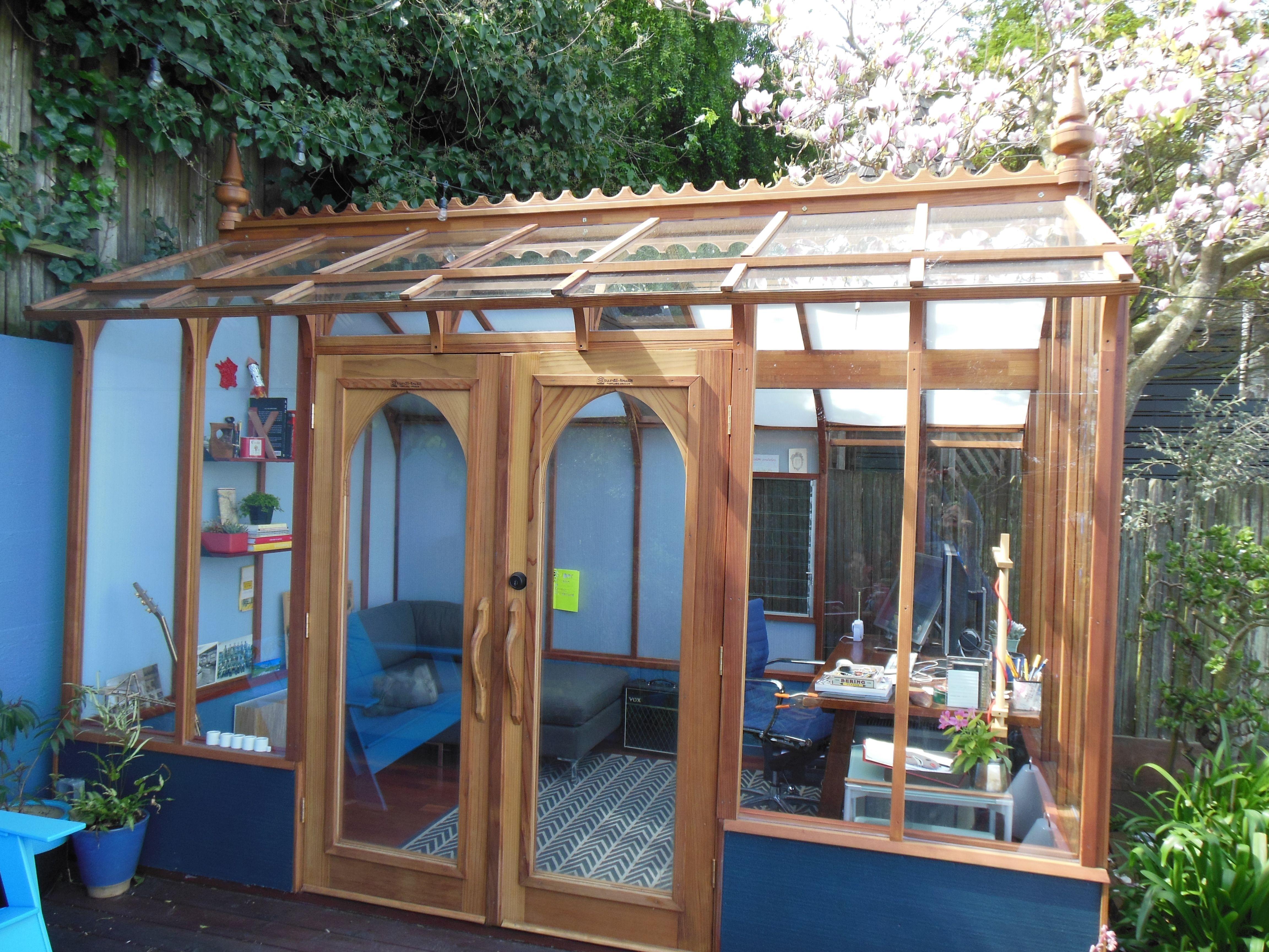 8 X 12 Nantucket Greenhouse Used As A Studio Greenhouse 640 x 480